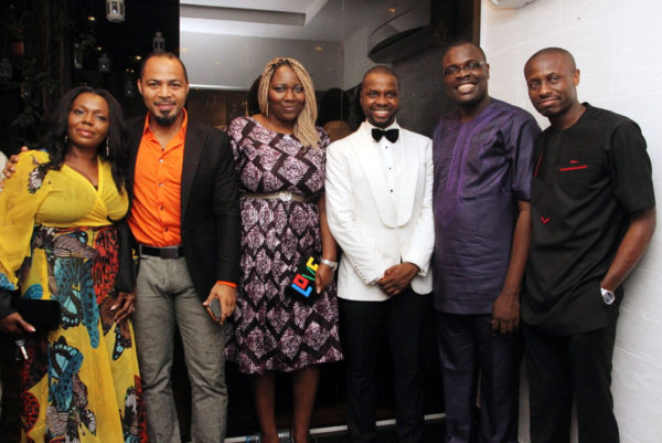Ramsey Nouah, Adebola Williams, Chude Jideonwo and guests‎