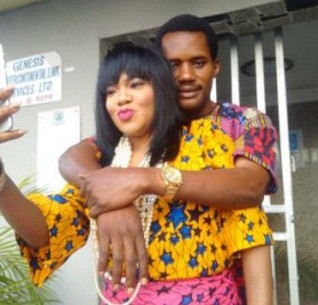 Toyin & Seun in happier times