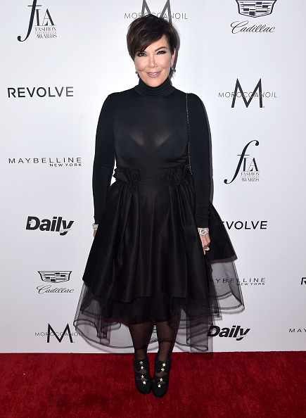 """WEST HOLLYWOOD, CA - MARCH 20:  TV Personality Kris Jenner attends the Daily Front Row """"Fashion Los Angeles Awards"""" at Sunset Tower Hotel on March 20, 2016 in West Hollywood, California.  (Photo by Alberto E. Rodriguez/Pret-a-Reporter/Getty Images)"""