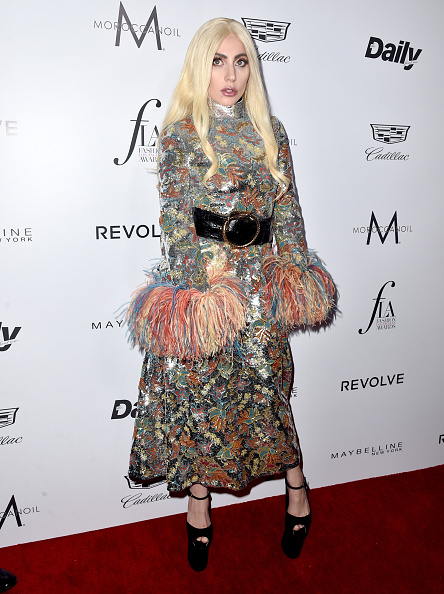"""WEST HOLLYWOOD, CA - MARCH 20: Honoree Lady Gaga attends the Daily Front Row """"Fashion Los Angeles Awards"""" at Sunset Tower Hotel on March 20, 2016 in West Hollywood, California.  (Photo by Alberto E. Rodriguez/Pret-a-Reporter/Getty Images)"""