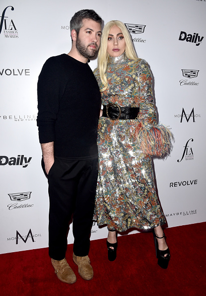"WEST HOLLYWOOD, CA - MARCH 20: Brandon Maxwell & Lady Gaga attend the Daily Front Row ""Fashion Los Angeles Awards"" at Sunset Tower Hotel on March 20, 2016 in West Hollywood, California."