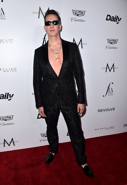 "WEST HOLLYWOOD, CA - MARCH 20:  Designer Jeremy Scott attends the Daily Front Row ""Fashion Los Angeles Awards"" at Sunset Tower Hotel on March 20, 2016 in West Hollywood, California.  (Photo by Alberto E. Rodriguez/Pret-a-Reporter/Getty Images)"