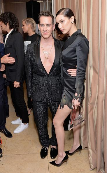 Jeremy Scott & Bella Hadid