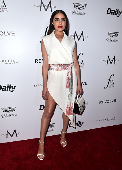 "WEST HOLLYWOOD, CA - MARCH 20: Olivia Culpo attends the Daily Front Row ""Fashion Los Angeles Awards"" at Sunset Tower Hotel on March 20, 2016 in West Hollywood, California."