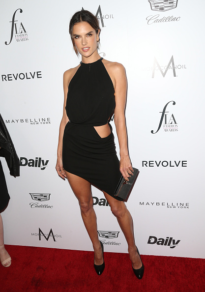 """WEST HOLLYWOOD, CA - MARCH 20: Alessandra Ambrosio attends the Daily Front Row """"Fashion Los Angeles Awards"""" at Sunset Tower Hotel on March 20, 2016 in West Hollywood, California."""