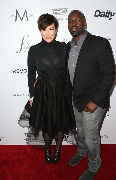 "WEST HOLLYWOOD, CA - MARCH 20: Kris Jenner & Corey Gamble attend the Daily Front Row ""Fashion Los Angeles Awards"" at Sunset Tower Hotel on March 20, 2016 in West Hollywood, California."