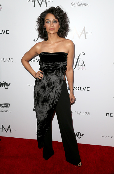 "WEST HOLLYWOOD, CA - MARCH 20:  Actress Nazanin Mandi attends the Daily Front Row ""Fashion Los Angeles Awards"" at Sunset Tower Hotel on March 20, 2016 in West Hollywood, California.  (Photo by Frederick M. Brown/Getty Images)"