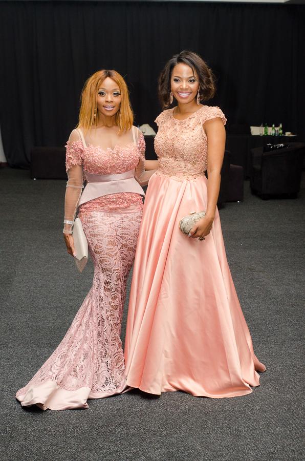 Thembi Seete & Terry Pheto