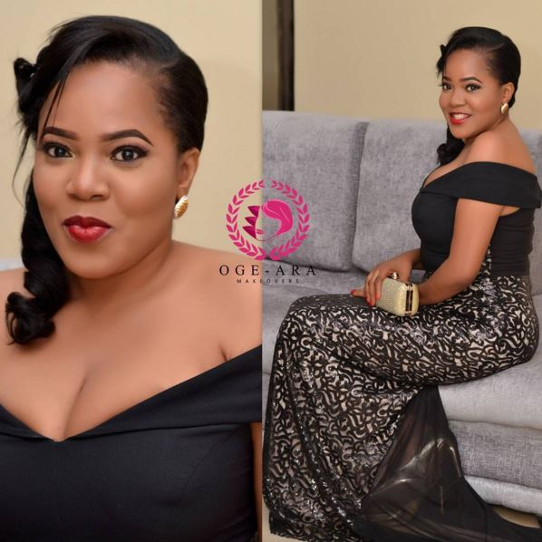 Toyin Aimakhu by Ogeara Makeovers
