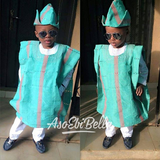 Tyrone @teetocrylics in @ardunny_aso ebi, asoebi