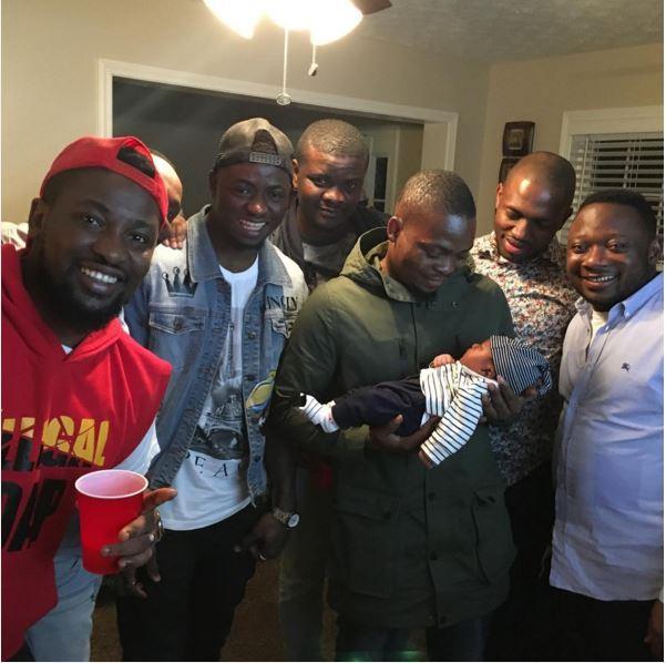 Olamide, Dotun Kayode, DJ EniMoney & More at Ushbebe's Son's Naming