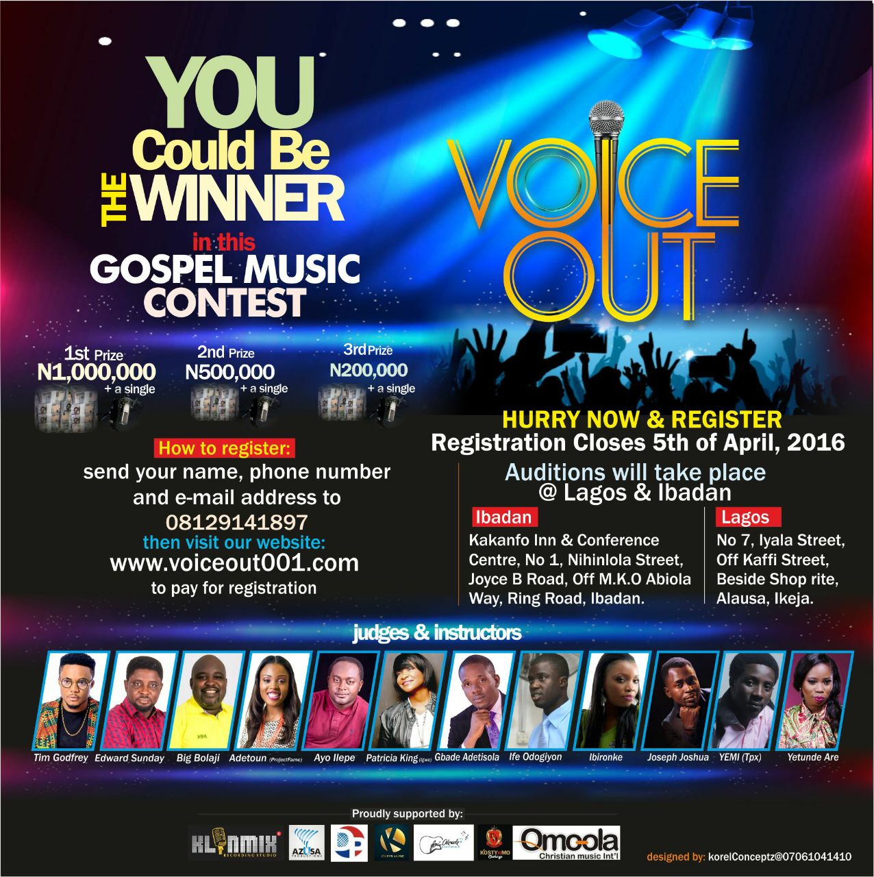Voice Out Gospel Music Talent Show