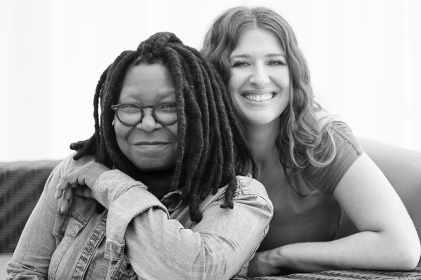 Whoopi Goldberg and Maya Elisabeth