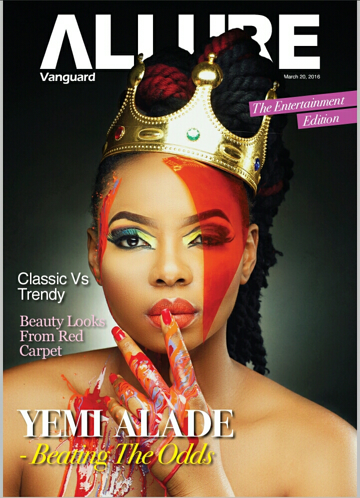 Yemi Aalde's Vanguard Allure Cover