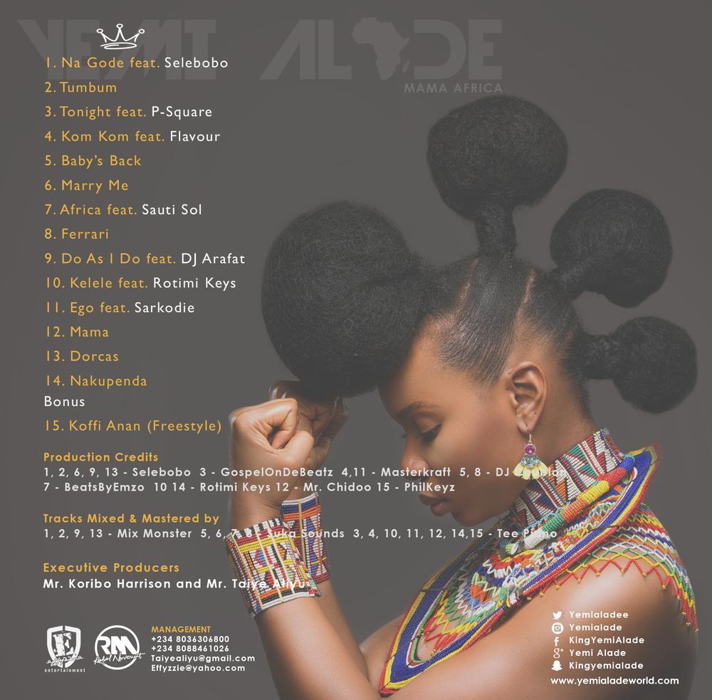 Yemi Alade - Mama Africa