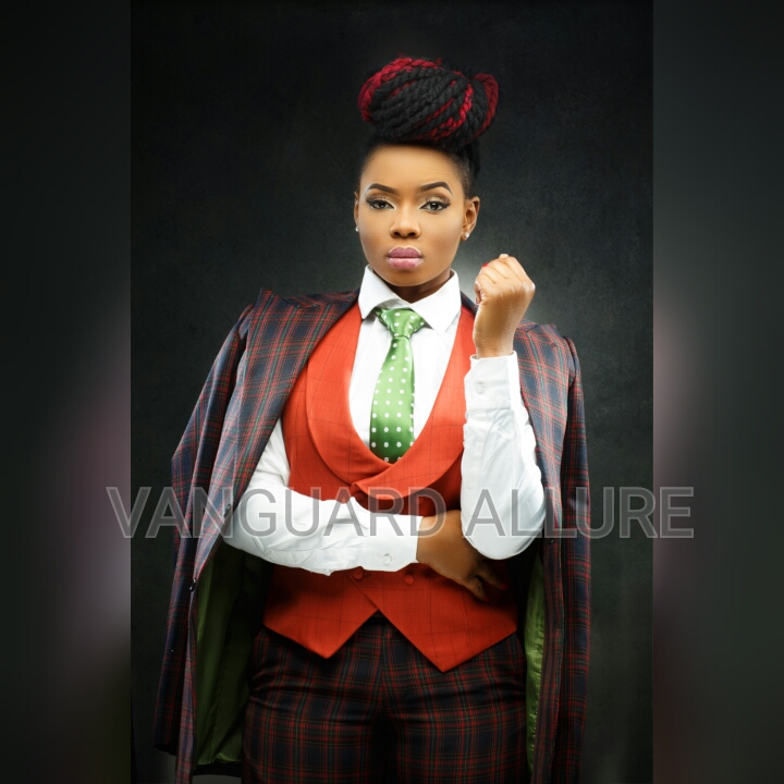 Yemi Alade for Vangaurd Allure
