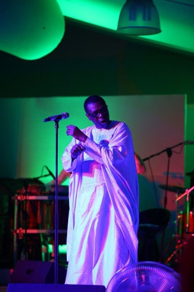 Yossou N&#8217_Dour at Etisalat Prize for Literature 2013