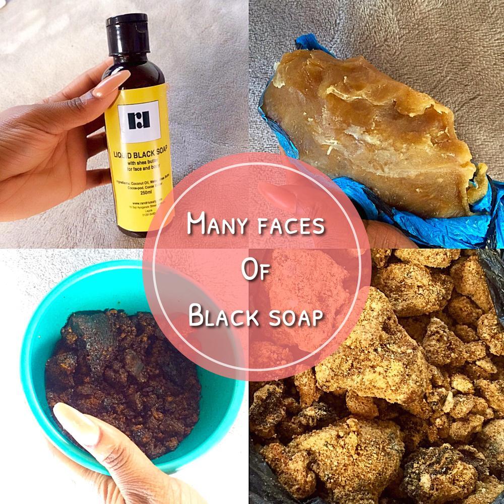 black soap images