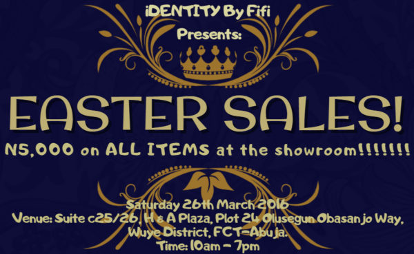 iDENTITY By Fifi Easter Sales
