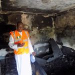 unilag guest house on fire