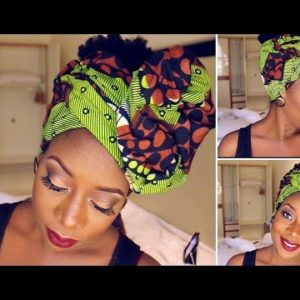 How to Tie an Ankara Head Wrap | Watch Sisi Yemmie's Tutorial