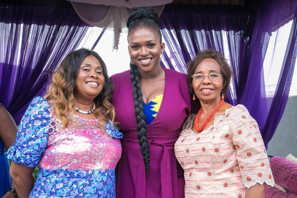 Gloria Ebiye, Waje & Rose Opara