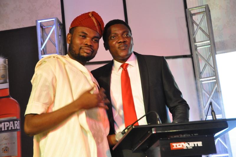 Omobaba and Head of Marketing BML, Abayomi Ajao
