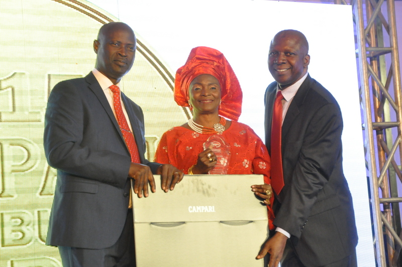 BML General manager, Olusola Ajayi, a distributor and Chief Accountant, BML, B.T Ajayi