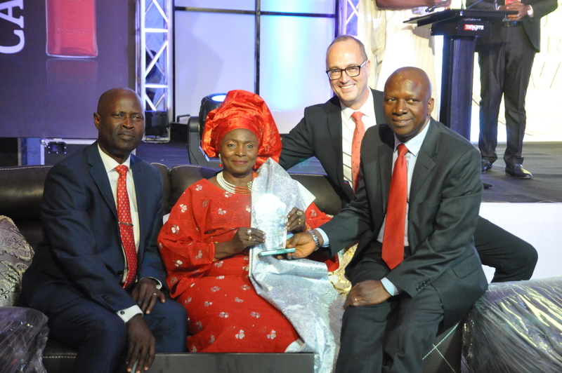 General Manager, Guest, Area Manager, Campari International Michael Redeh and Chief Accountant, BML B.T. Ajayi
