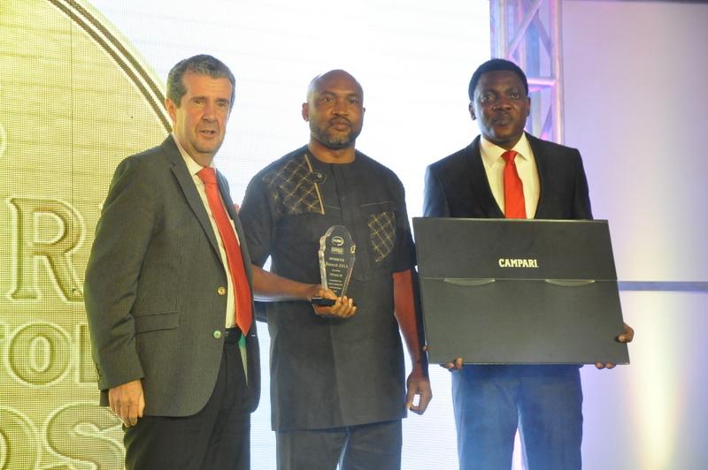 Managing Director, BML, Paul Wilson, 8th runner up and Head of Marketing, Abayomi Ajao