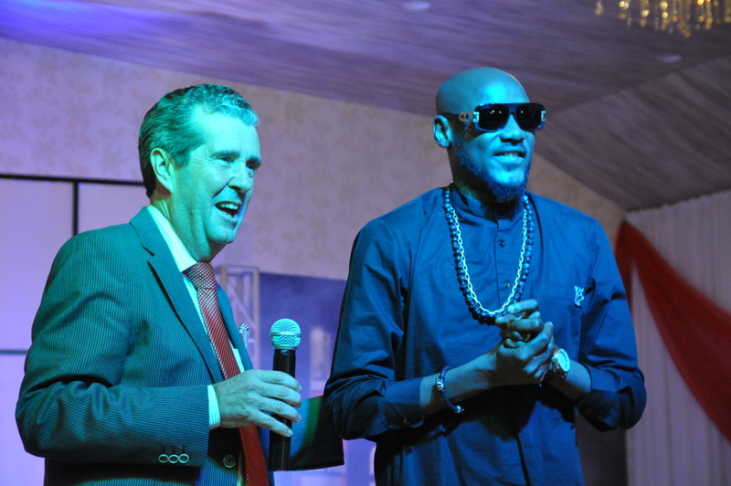 Managing Director BML, Paul Wilson and 2Face