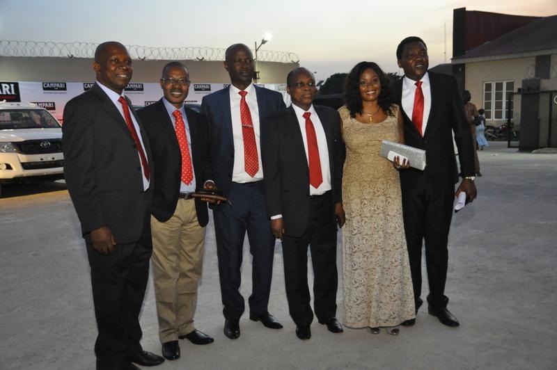 BML Chief Accountant, B.T Ajayi, BML National Sales Manager, Paul Omekwe, General manager, Olusola Ajayi, BML Executive Director, Demola Kolade, BML Sales Development Manager, Bola Lofindipe and Head of Marketin BML, Abayomi Ajao