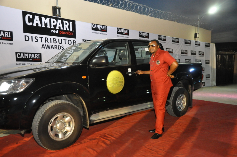 Winner of Campari Distributor award