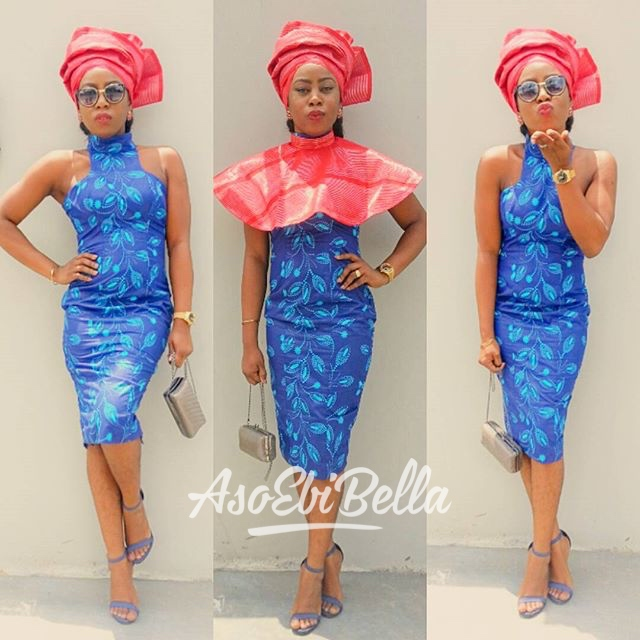 @buitii in dress by @otentiquedesigns