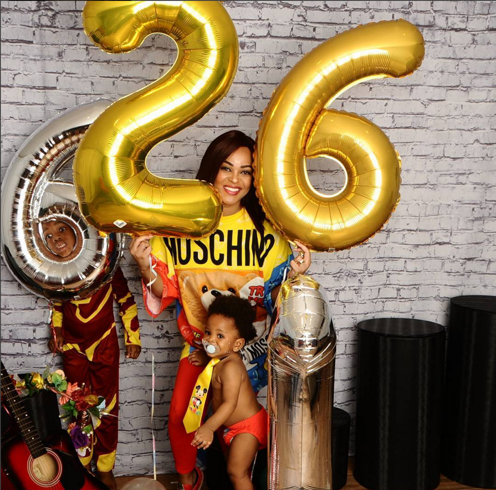 Adaeze Yobo, Jay and Joey Birthday 1