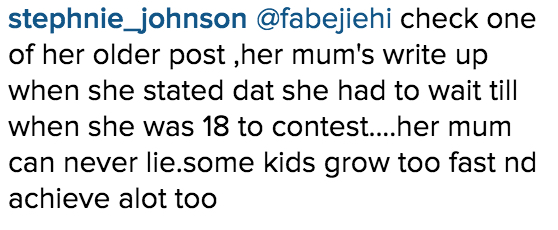 Adaeze Yobo is 26 on IG_Instagram Comments_1
