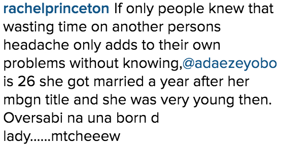 Adaeze Yobo is 26_Instagram Comments_6