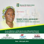 Aisha Abubakar BOI Town Hall