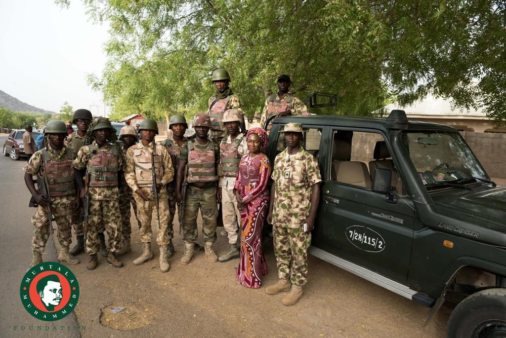 Aisha Oyebode Chibok7