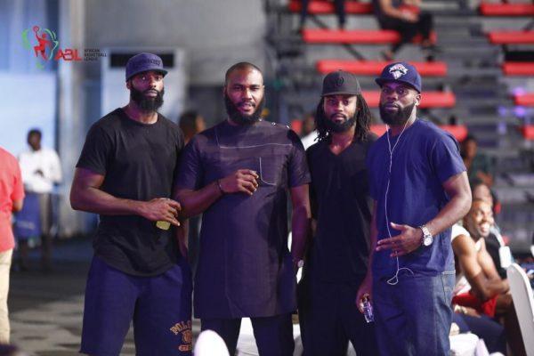 Akintunde Moses, Royce Dickson, Obun and Falando Jones