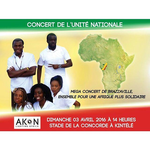 Akon Concert Congo