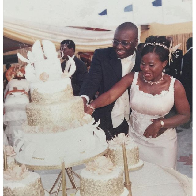 Alibaba & Mary B on their wedding day
