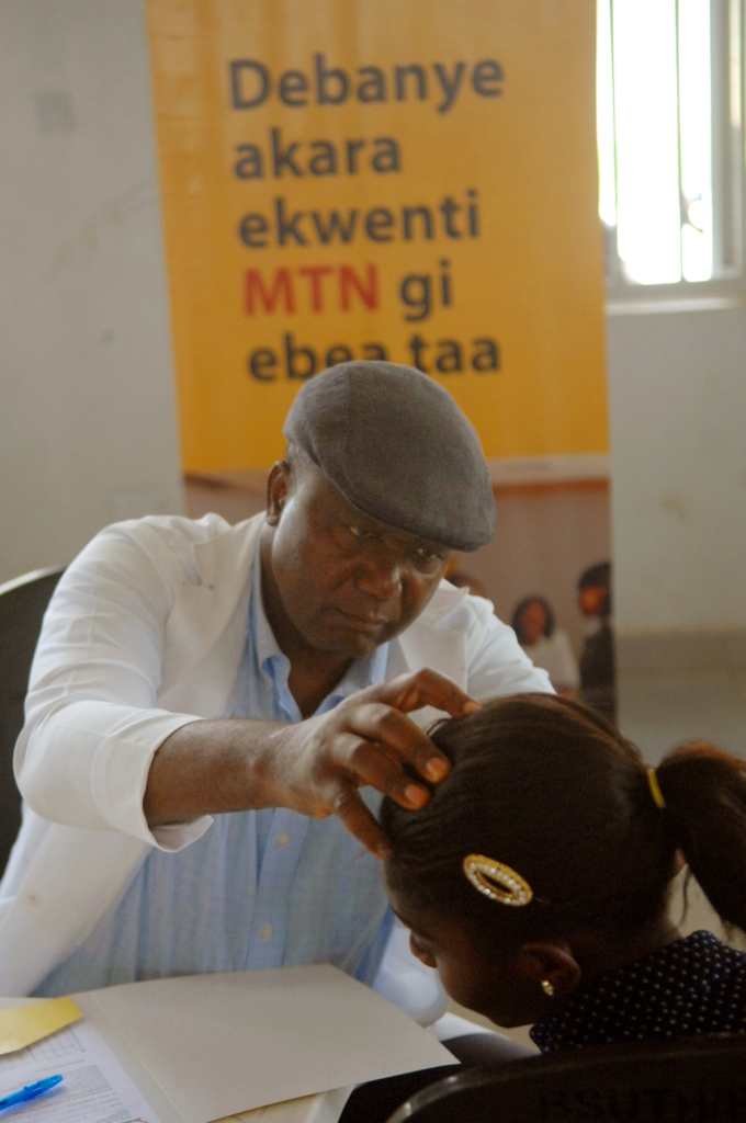 Audiometric Assessment Begins in Akwa Ibom, Benue and Katsina for the MTN Foundation H A 001