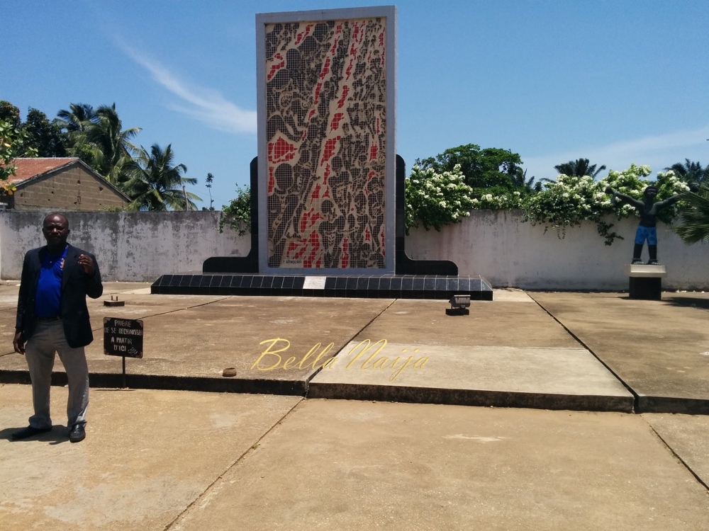 Zomachi Memorial for slaves who died in transit