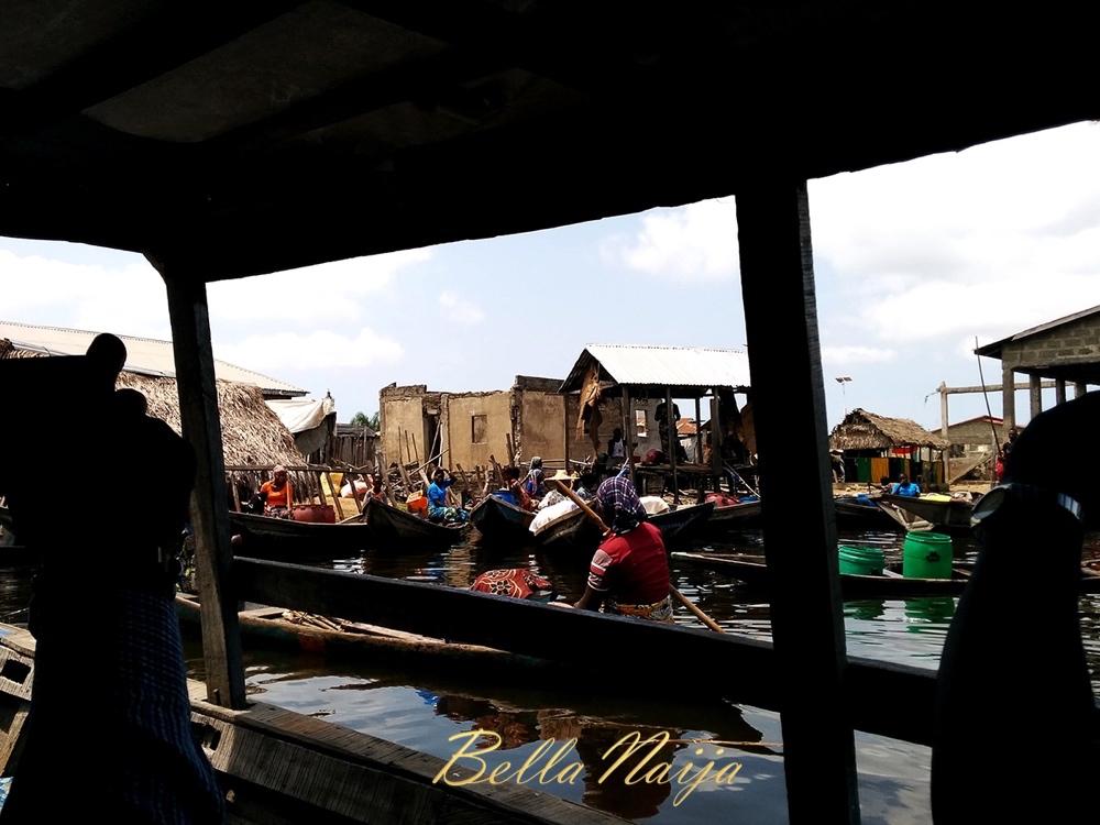 Market in Ganvie