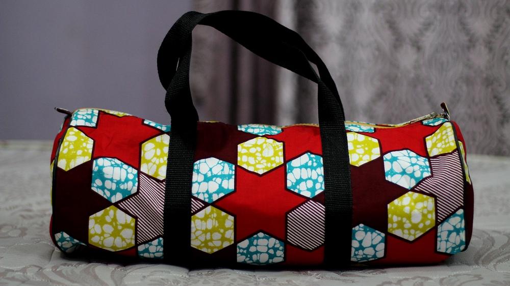 An ankara bag I was given LOVE it!