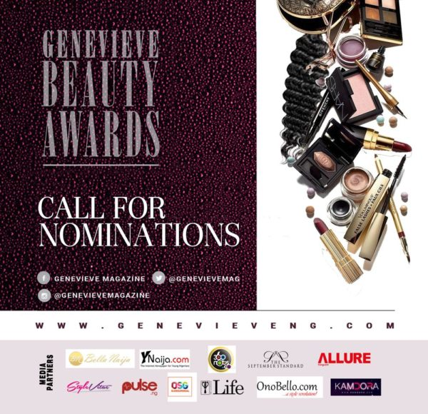 Beauty Awards Nomination Flyer