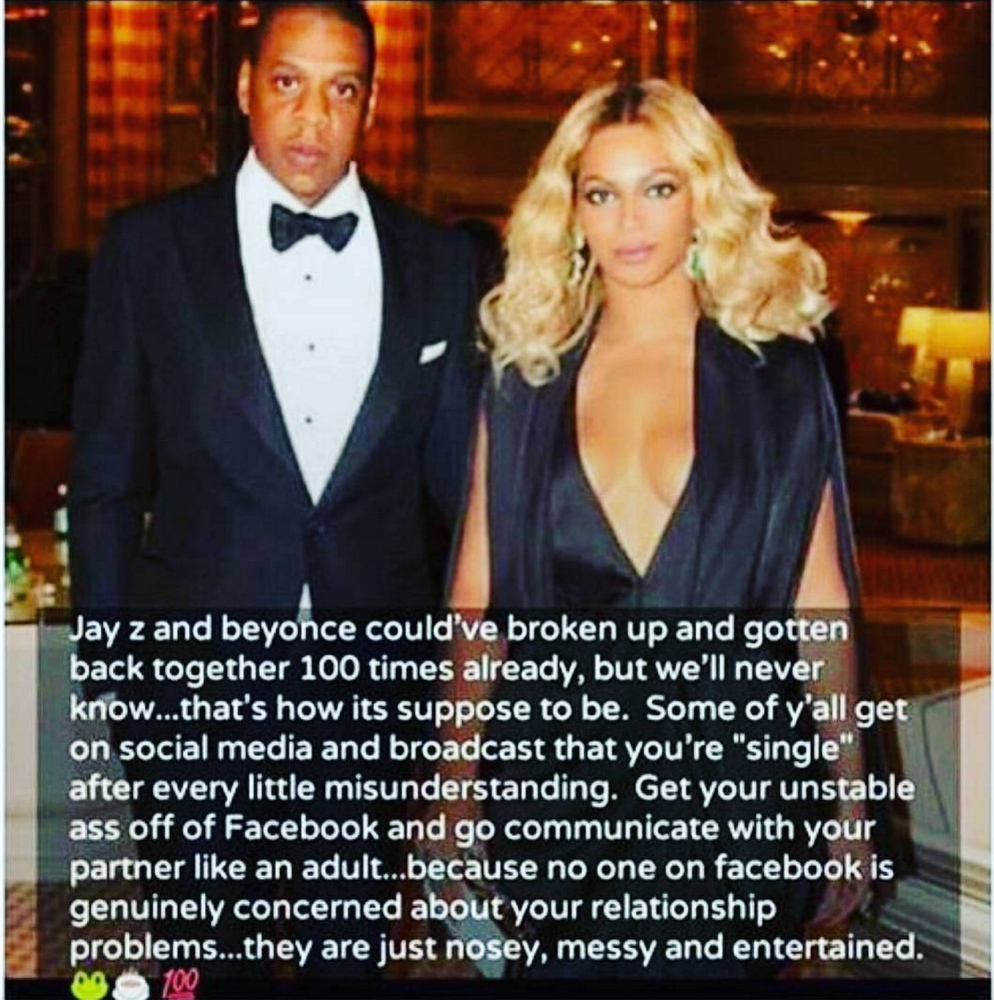 Beyonce and Jay Z breaking up