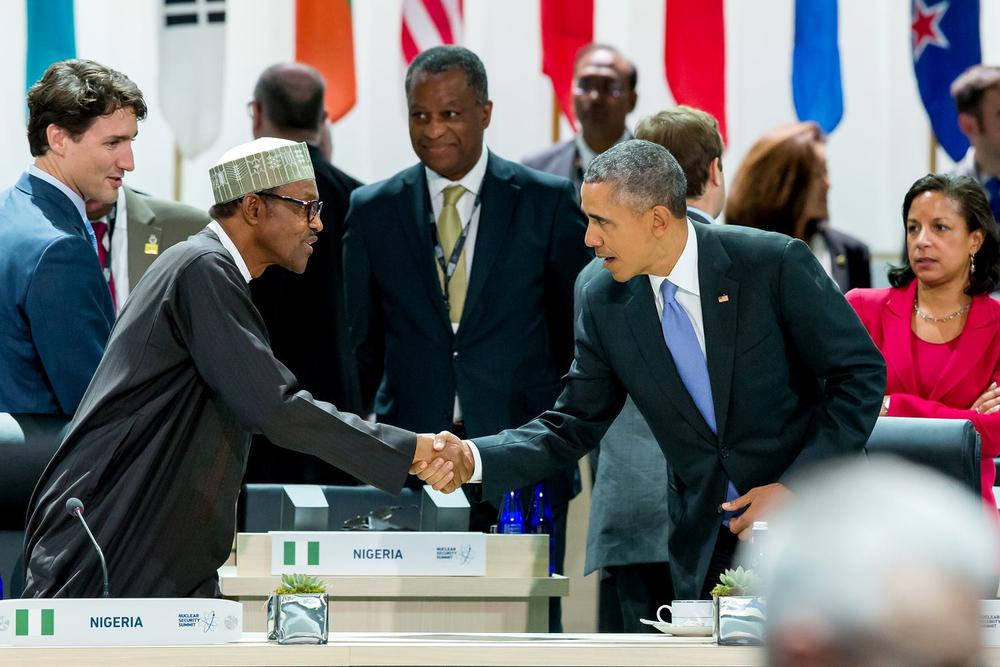 Buhari & Obama - Photo by Bayo