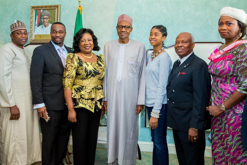 Buhari meets Nigerians 2